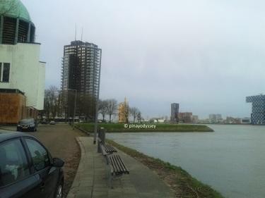 Rotterdam river coast