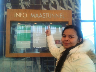 Entrance to Maastunnel