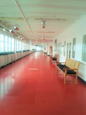 The ship hallway
