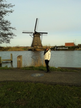 Just me posing with a windmill in the background