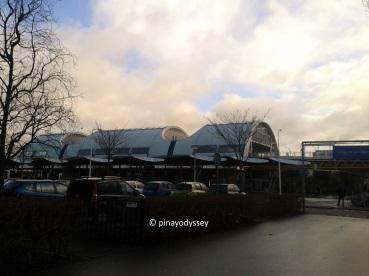 Spijkenisse metro station