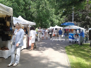 Summer Bazaar at Vermanes Park