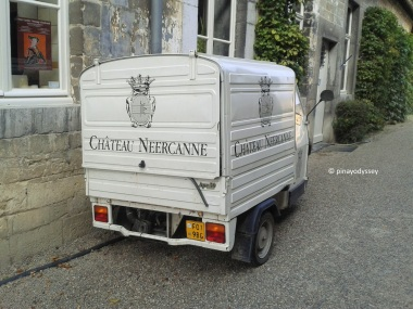 Château Neercanne food truck