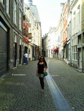 Maastricht narrow street
