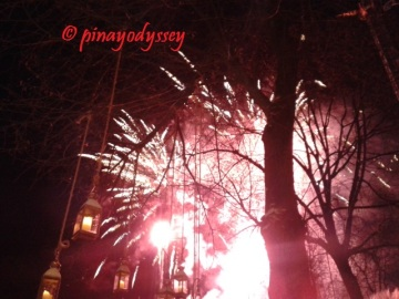 Tivoli, fireworks display