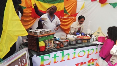 Ethiopia food booth