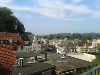 View from the Valkenburg Castle