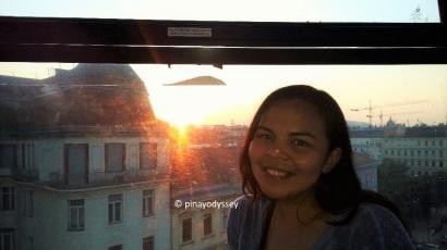 Aboard the Budapest Eye