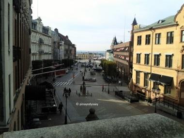 A view from Kärnan