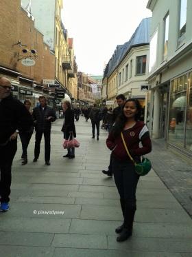 Helsingborg shopping street
