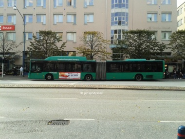 Helsingborg biogas-fueled bus