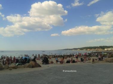 Helsingborg beach