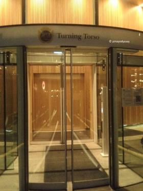 Turning Torso entrance