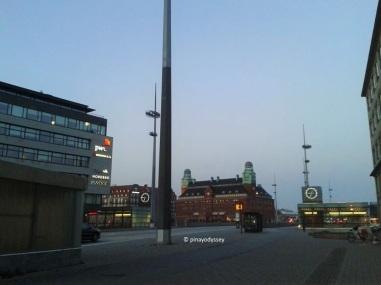 Malmö Central Station from afar