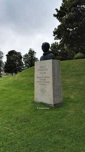 Roald Amundsen's monument in Fredrikstad