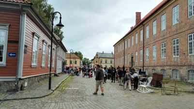 Flea market at Kongenstorv (The King's Square)