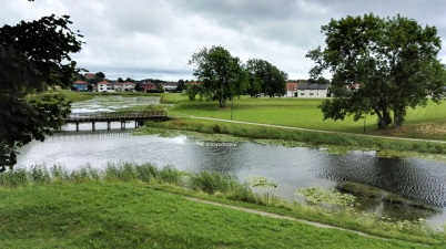 Fredriksten, the moat