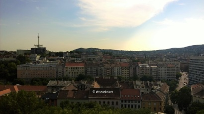 Views from the Buda castle complex