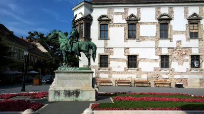 At Buda Castle complex