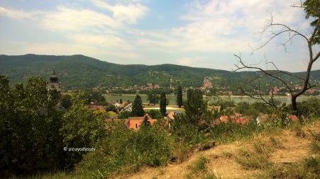 View of Visegrad from the hill
