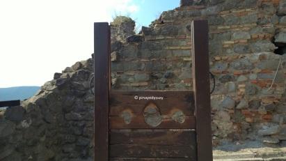 Fellegvár Citadel, ancient punishment device