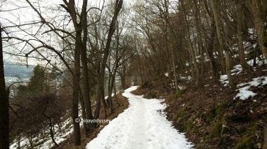 The path going up the hill, also called Zik-zakken