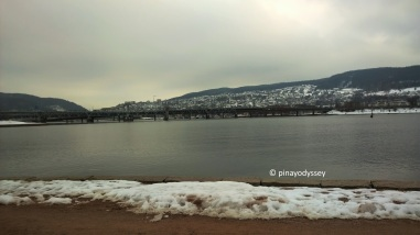 Drammen in winter