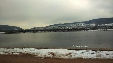 Drammen in winter
