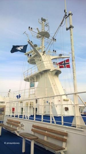 DFDS Seaways deck