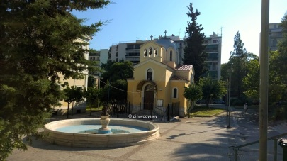 The church at the Eleftherias Square