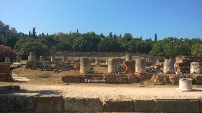 Ruins at the ancient Agora