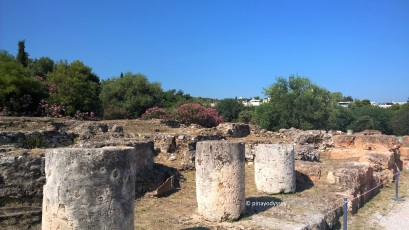 Ruins of the ancient Agora