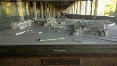 Stoa of Attalos, a diorama