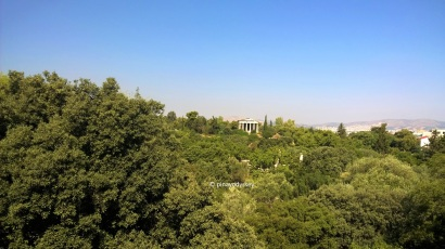 View from the Stoa of Attalos