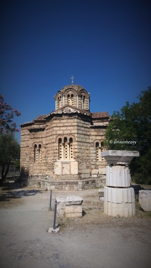 The Agii Apostoli (Church of the Holy Apostles) on the way to Acropolis