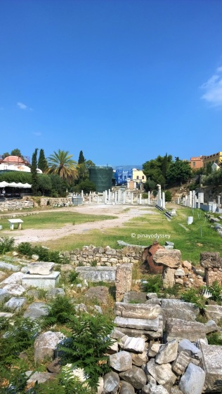 Ruins of the Romaiki Agora
