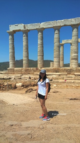 Just me at the Temple of Poseidon in Sounion