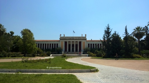 The National Archaeological Museum in Athens