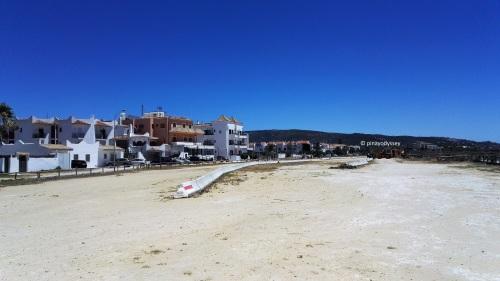 Residential area in Zahara de los Atunes