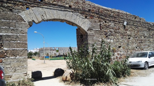 Muralla de la Chanca in Castillo Zahara