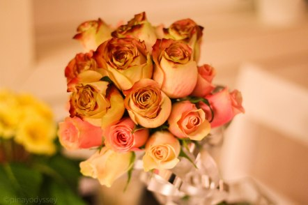 My self-made wedding bouquet <3