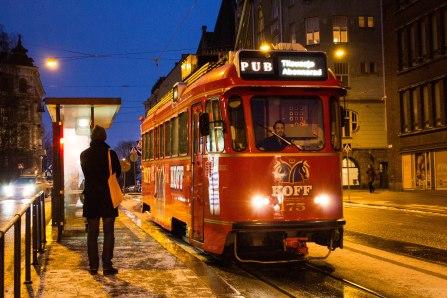 SpåraKOFF pub tram