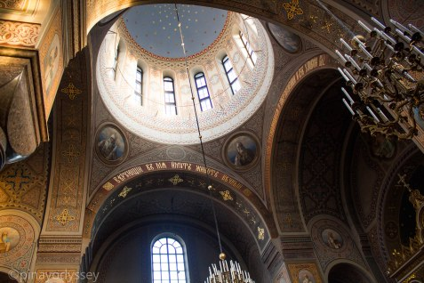 Uspenski Cathedral, Helsinki interior