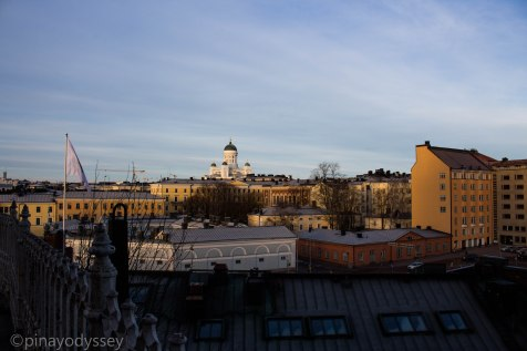 Helsinki from the Uspenski Cathedral