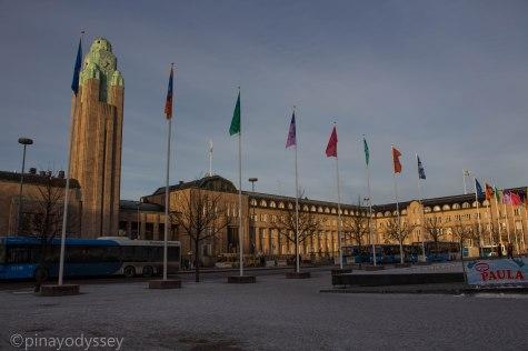 The Helsinki Central Station