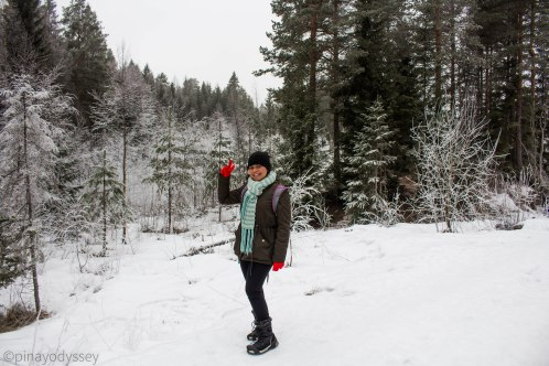 Just me in wintery Norway