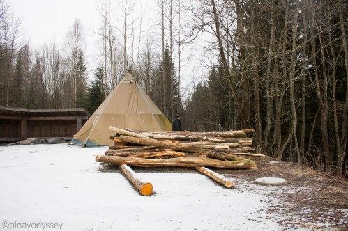 Blektjern camping place