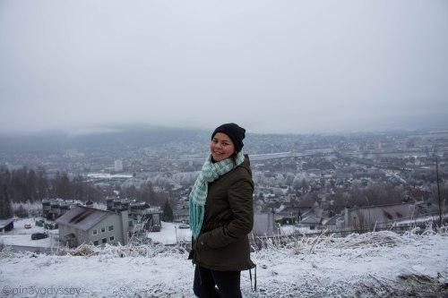 Drafnkollen - beautiful Drammen in the background