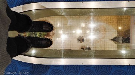 Transparent floors