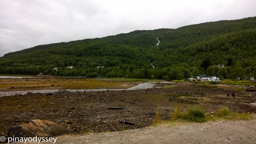 A camping site in Nordland